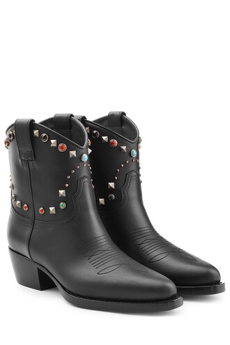 studded boots ankle boots shoes