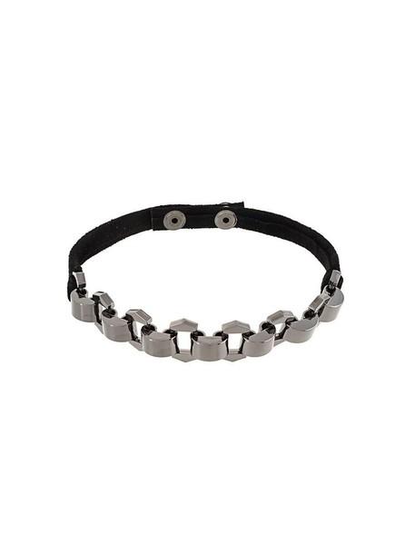 Manokhi metal women black jewels