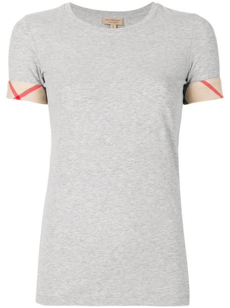 t-shirt shirt t-shirt women spandex cotton grey top