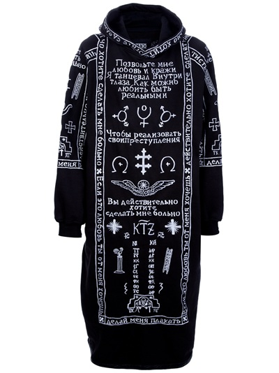 Ktz Church Embroidery Hoodie -  - Farfetch.com