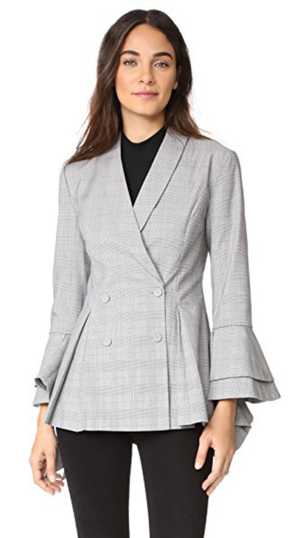 C MEO COLLECTIVE C MEO COLLECTIVE DESIRE BLAZER Sage - Wheretoget 75a5c6f4a4f