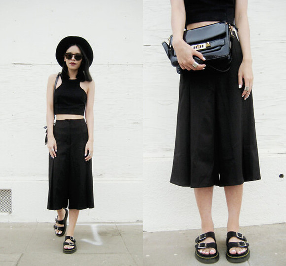 handbag bag skirt outfit clothes top bottoms clutch fashion sunglasses streetstyle shoes flats crop tops bra bralette pants sandals hat