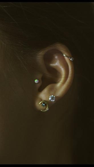 jewels sun earrings moon