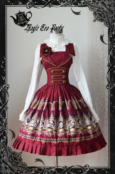 dress lolita rococo