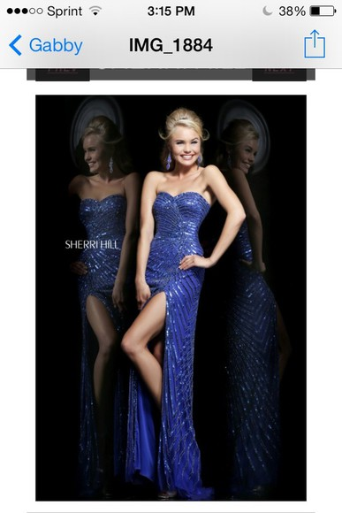 dress navy blue sparkle dress