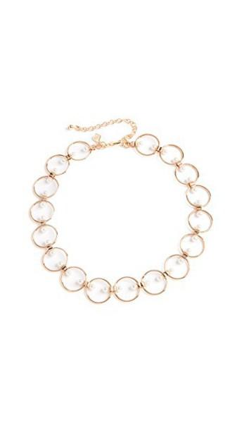 Rebecca Minkoff pearl gold jewels