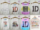t-shirt,harry styles,one direction,tank top,top,one direction crop top