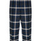 Dsquared2 - checked cropped trousers - women - cotton - 44, blue, cotton