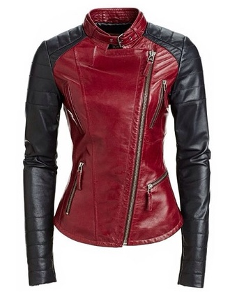 jacket leather jacket rose wholesale black biker jacket