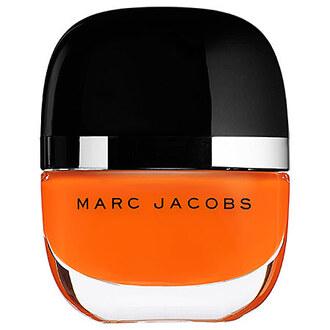 nail polish orange marc jacobs fall colors halloween makeup