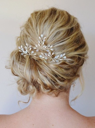 hair accessory style trendy hair accessories silver jewelry beach wedding