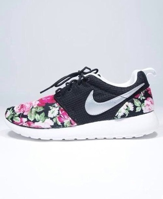 shoes nike nike running shoes flowers nike shoes with flowers