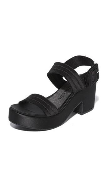 Pedro Garcia sandals platform sandals black shoes