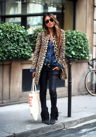 sincerely jules coat shirt jeans shoes bag sunglasses
