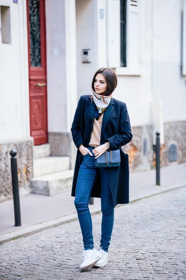 the golden diamonds coat sweater bag scarf belt