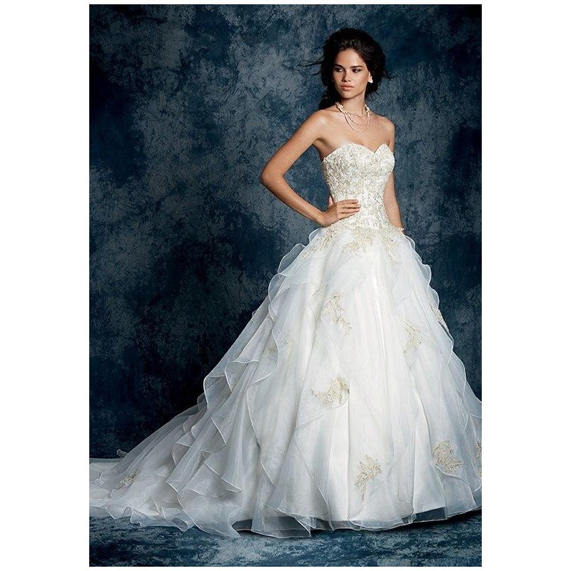 Sapphire By Alfred Angelo 899 Wedding Dress The Knot Formal