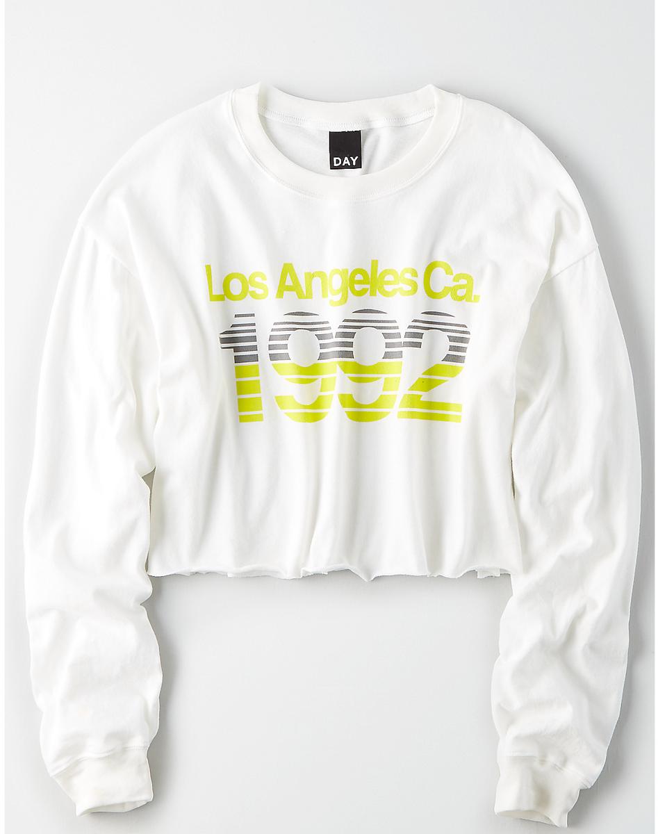AEO Studio Long Sleeve Boxy T-Shirt