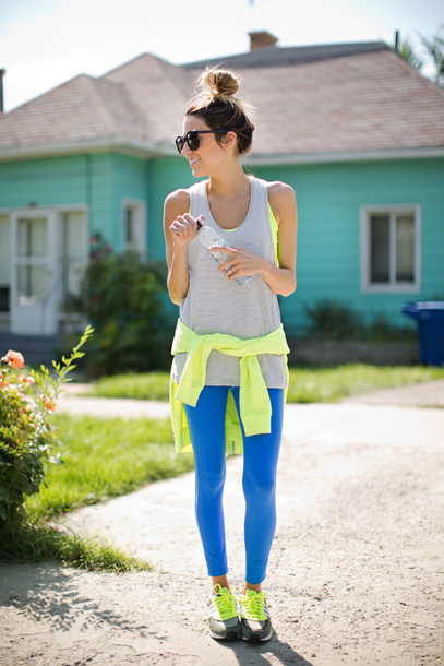 hello fashion blogger underwear sunglasses bag top tank top leggings sweater shoes