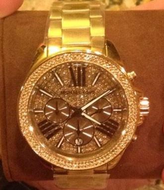 jewels watch michael kors watch michael kors diamonds jewelry gold