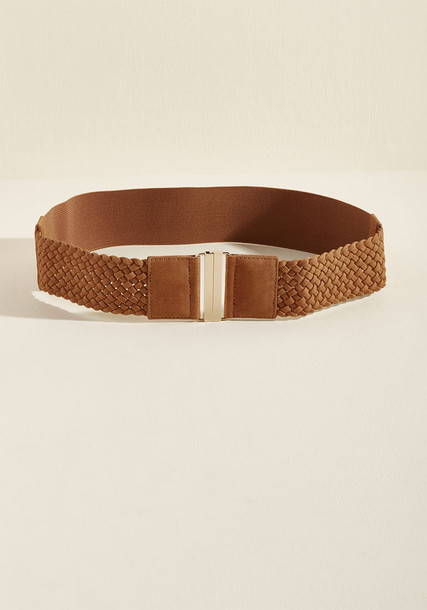 QSP-64935 cozy belt suede brown