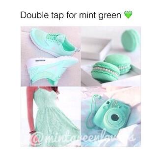 shoes nike dress mint