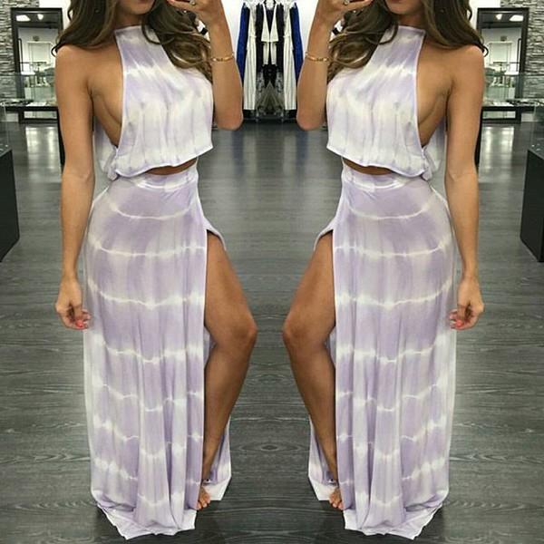 dress red splash boutique crop tops maxi skirt high slit skirt high slit dress cute set fashion blogger maxi dress summer dress