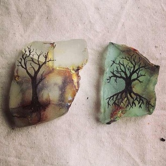 jewels tree branches vintage instagram rock tumblr turquoise