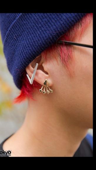 earrings jewels style cool fashion