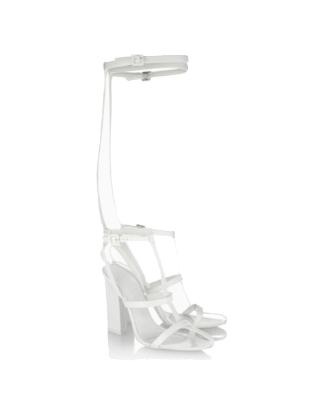 New Style Toe Sandals In White - Choies.com