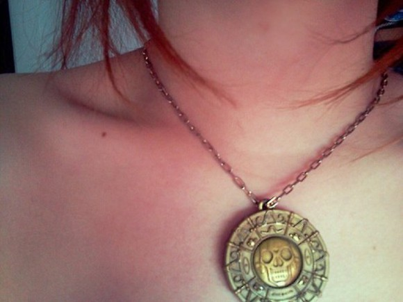 jewels necklace pirates of the carribean piates necklace