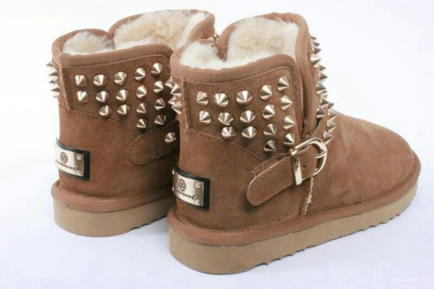 shoes, ugg boots, ugg boots, studs