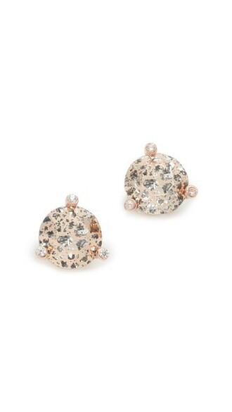rose earrings stud earrings jewels