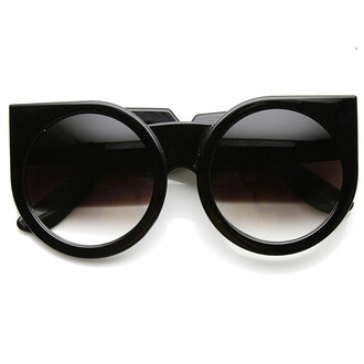 cat eye sunglasses cat eye sunglasses eyewear flyjane round sunglasses round frames