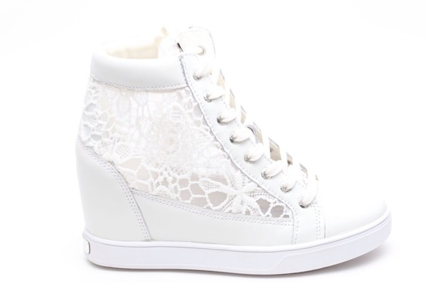 shoes, guess shoes, guess, pretty, cute, lace, sneakers ...