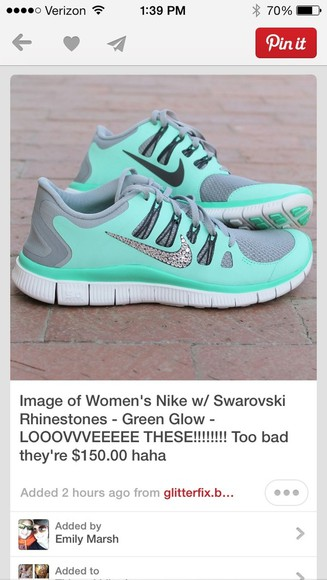 shoes mint green
