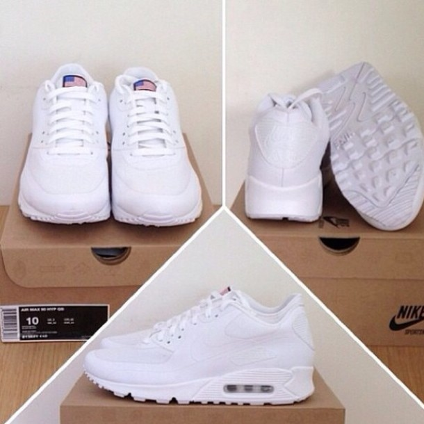 germany nike air max 90 hyperfuse all white 8f66e c98c7