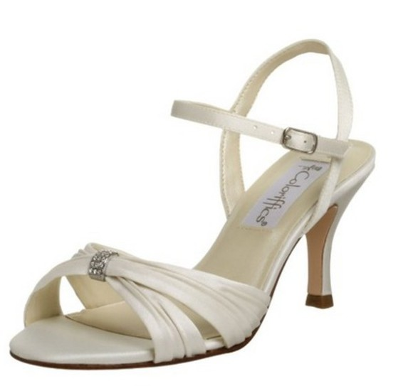 shoes low heels white shoes prom shoes ivory
