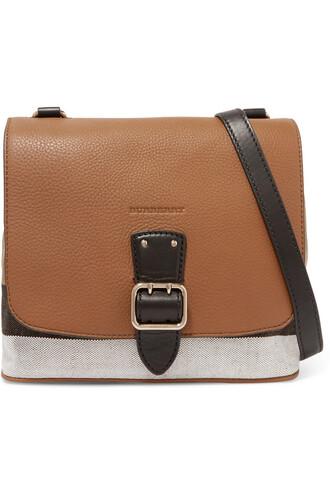 london bag shoulder bag leather tan