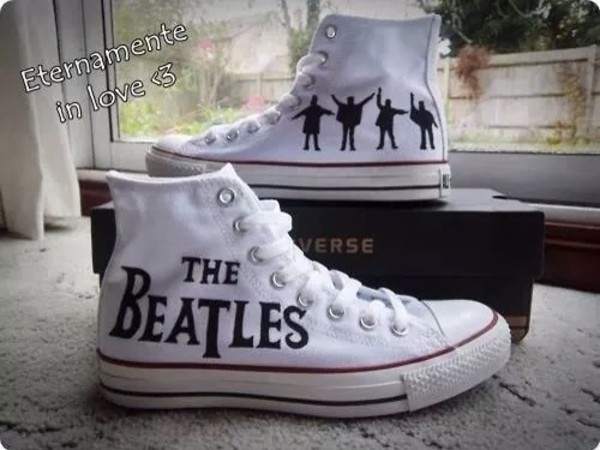 shoes the beatles chuck taylor all stars converse taylor chucks the beatles The beatles converse sneakers