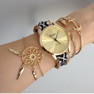 jewels gold arrow bracelets jewelry bracelets jewelry stacked bracelets gold bracelet dreamcatcher watch gold watch watches for women geneva black and white chain