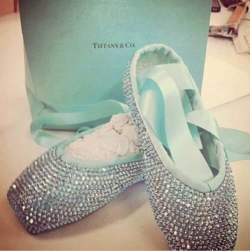 Tiffany & co. pointe shoes