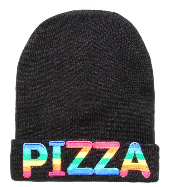 PIZZA BEANIE - Polyvore