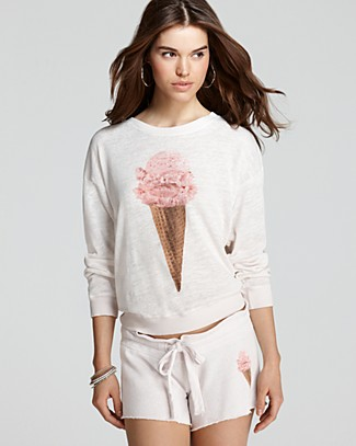 WILDFOX Sweatshirt - Ice Cream Terry | Bloomingdale's