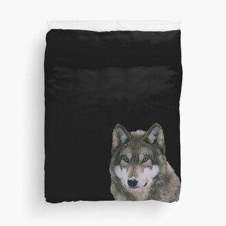 home accessory bedding wolf tumblr black black print style cool pinterest dark grunge blanket winter outfits sweet home decor beedding set tumblraccestios pictures white autumn/winter wolf print acessories grunge wishlist blankets decoration decorating decorated