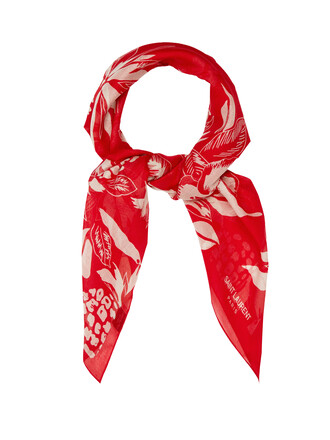 scarf cotton print