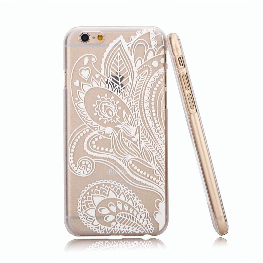 Amazon Com Iphone 6 Case La Go Go(henna Clear Plastic