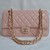 Top Chanel Jumbo Flap bag 28601 pink caviar leather silver hardware Hot Sale