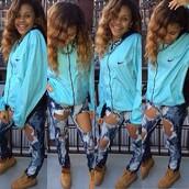 jacket,nike,windbreaker,jeans,shoes