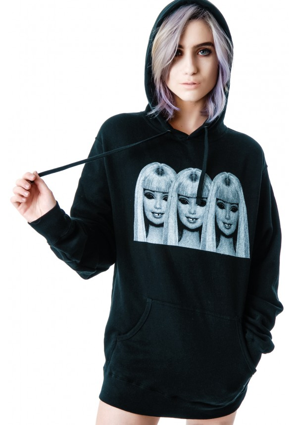 Ktag Evil Barbie Pullover Hoodie | Dolls Kill