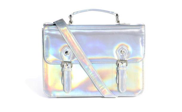 bag holographic bag